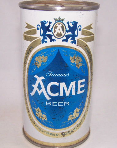 Acme Famous Beer, USBC 29-18, Grade 1- Sold on 10/15/17