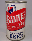 Banner Extra Dry Premium Beer (Akron) USBC 34-30, Grade 1 to 1/1+ Sold on 12/26/16