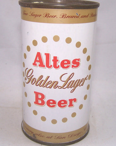Altes Golden Lager Beer, USBC 31-02, Grade 1