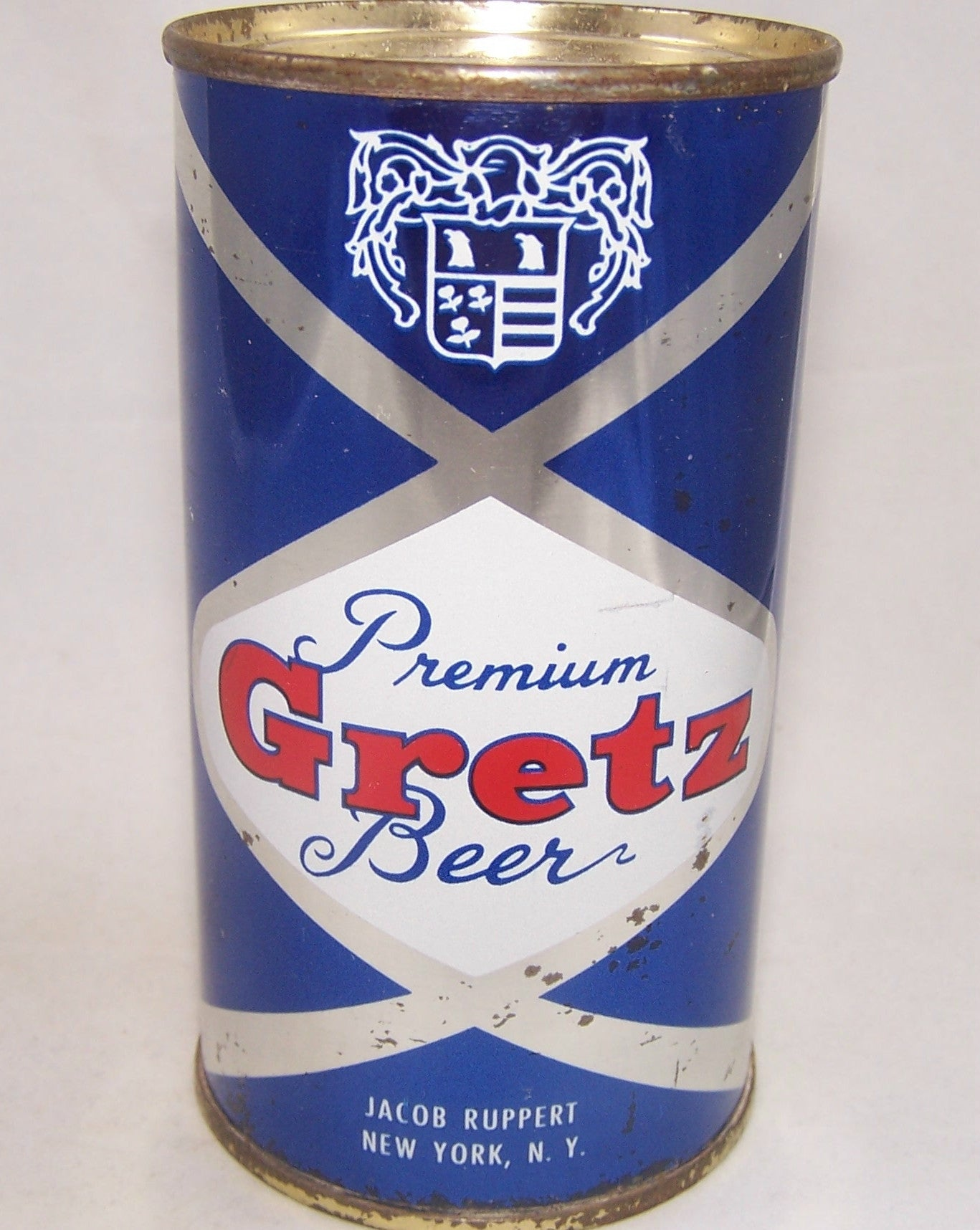 Gretz Premium Beer (Jacob Ruppert) USBC 74-33, Grade 1 to 1/1-
