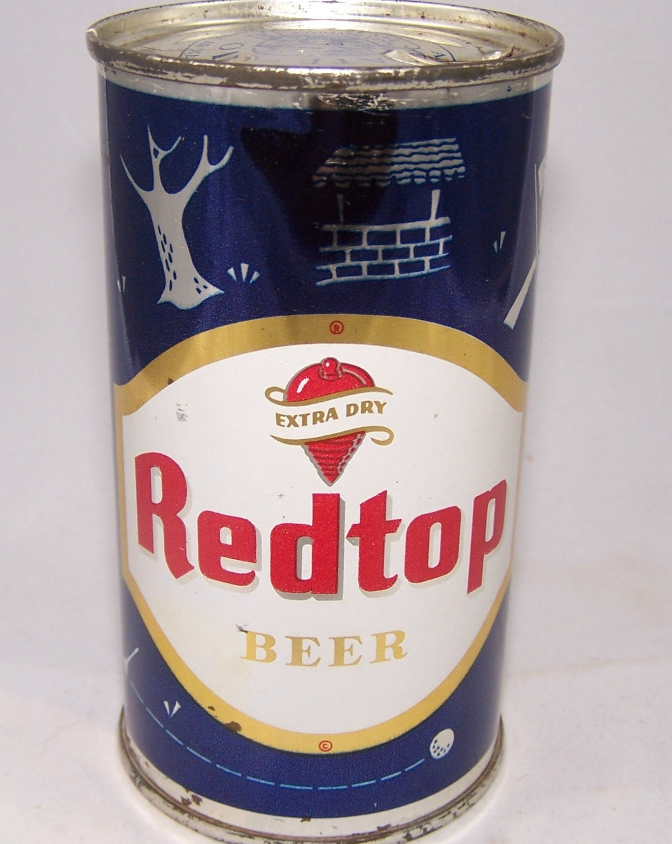 Red Top Beer (Golf) USBC 120-06, Grade 1 to 1/1+ Sold 06/18/16