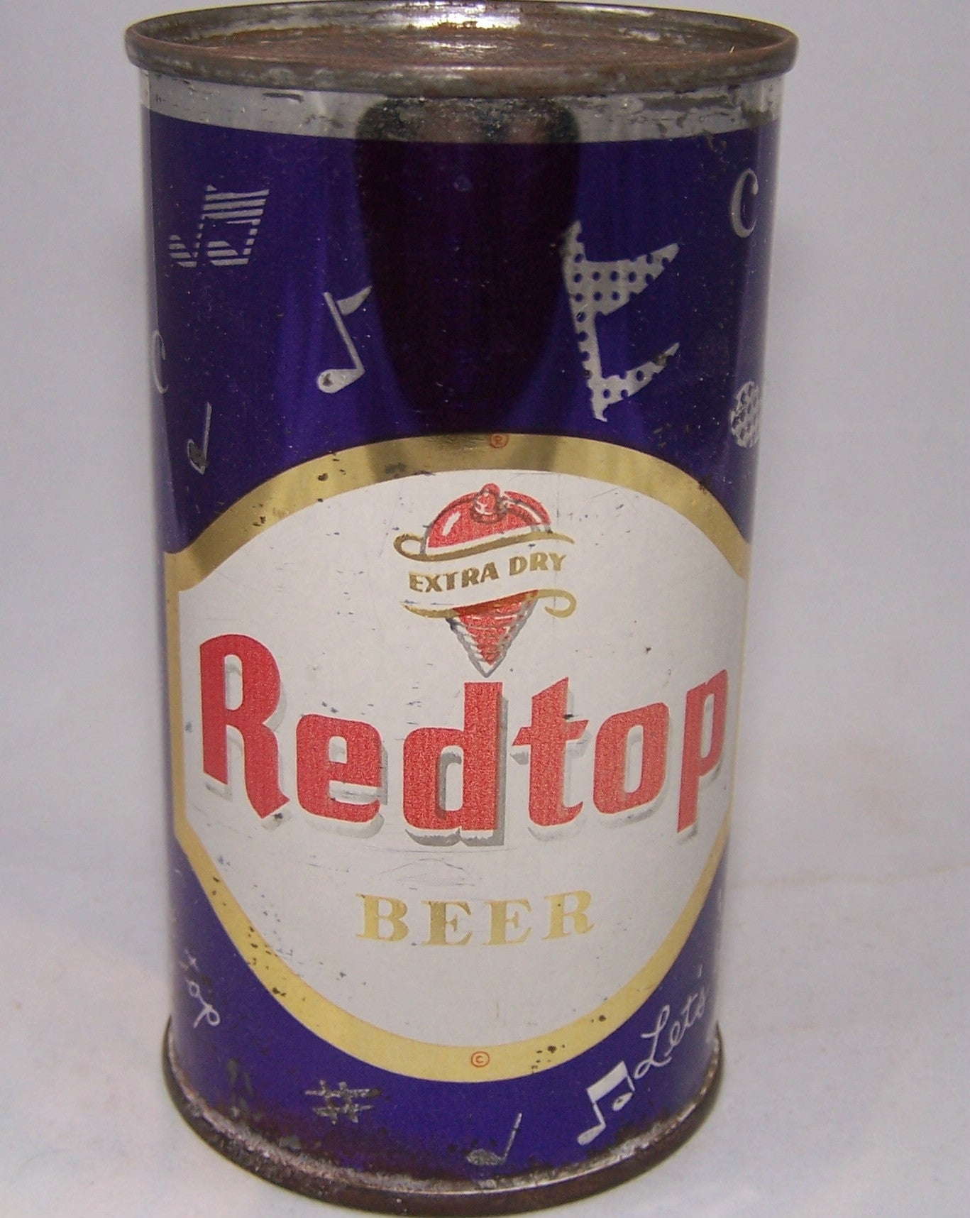 Red Top Beer (Music Notes) USBC 120-11, Grade 1-/2     Sold 6/26/16