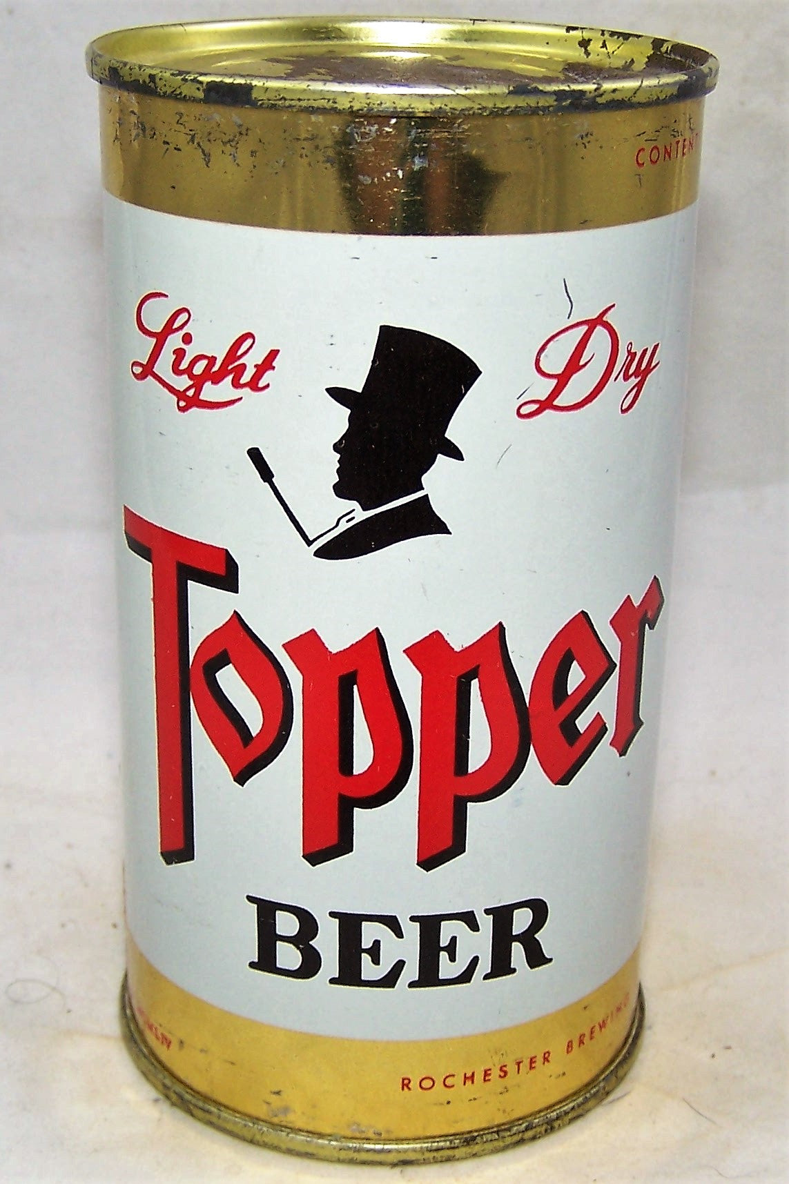 Topper Light Dry Beer, USBC 139-08, Grade 1 to 1/1+