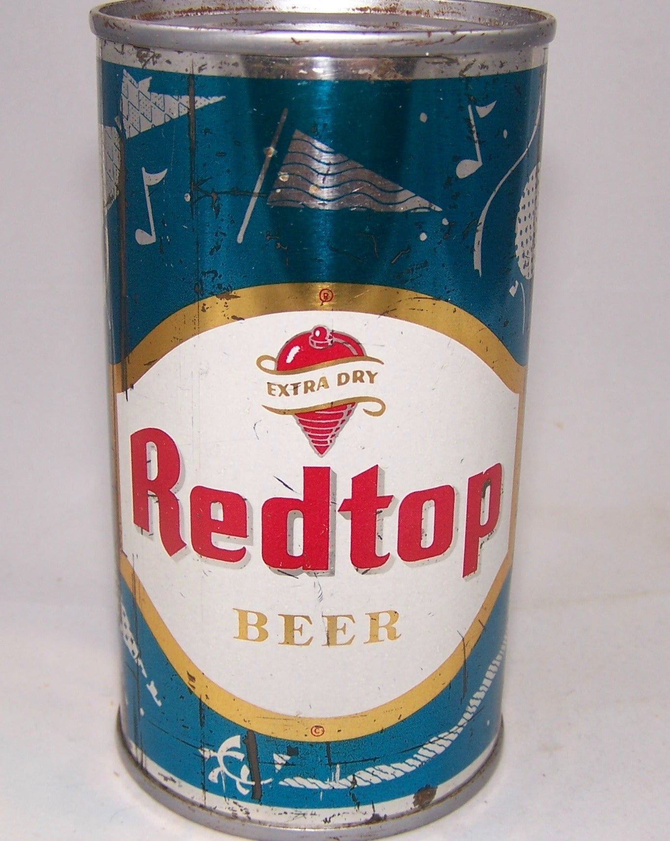 Red Top Beer (Party Flags) USBC 120-12, Grade 1-  Sold on 04/06/19