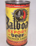 Balboa Export Beer (Monarch Brewing) USBC 32-37, Grade 1-