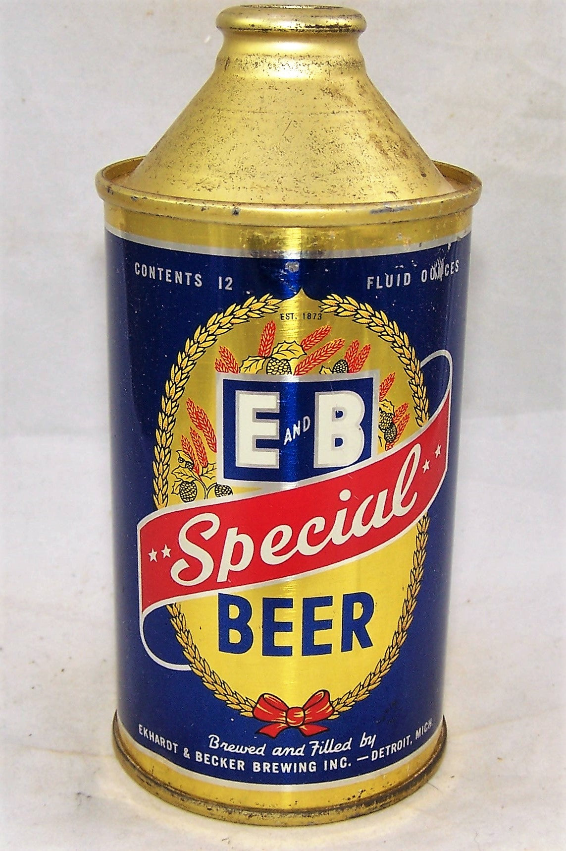 E&B Special Beer, USBC 160-15, Grade 1/1+ Sold on 10/03/19