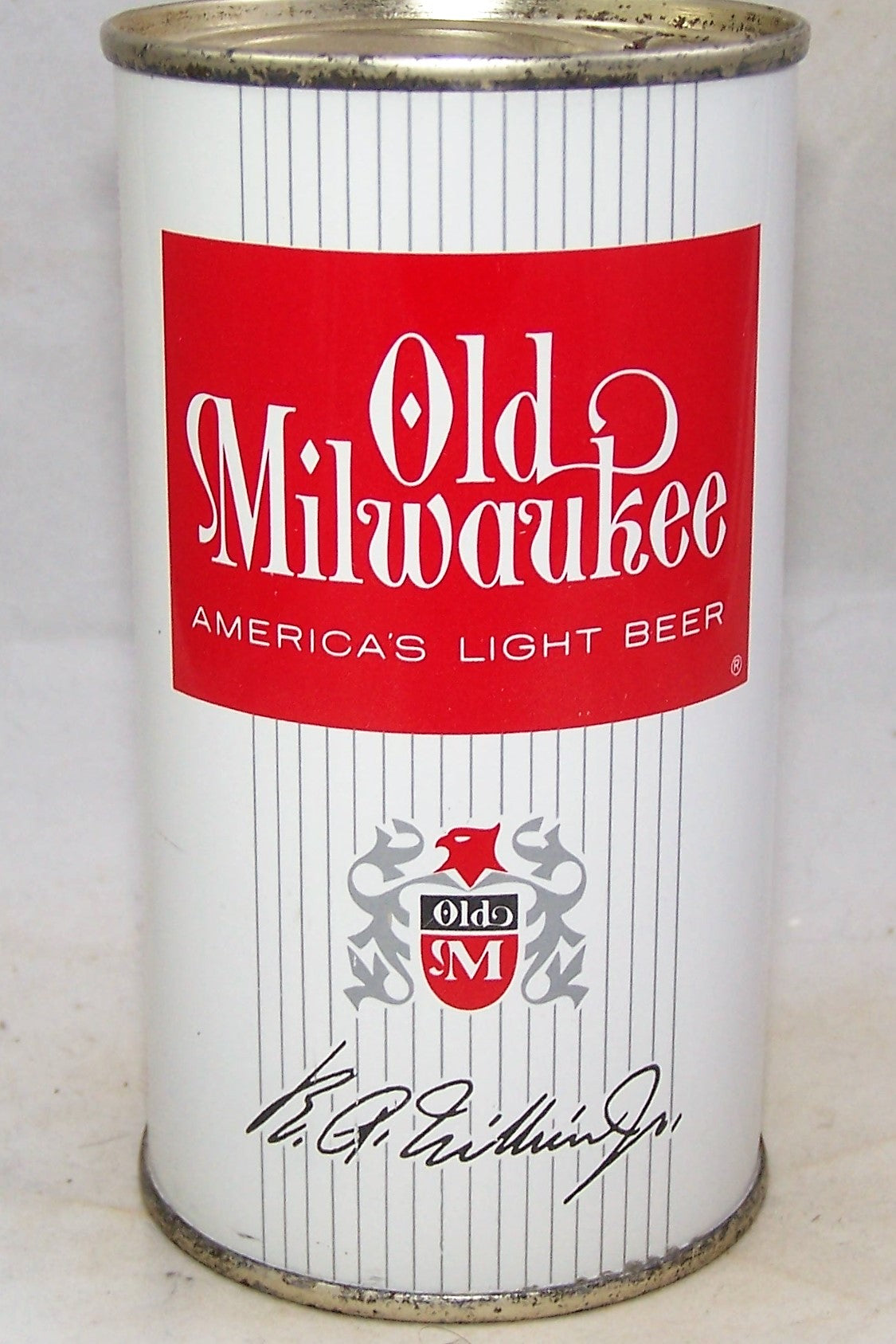 Old Milwaukee Americas Light Beer, USBC 107-30, Grade A1+