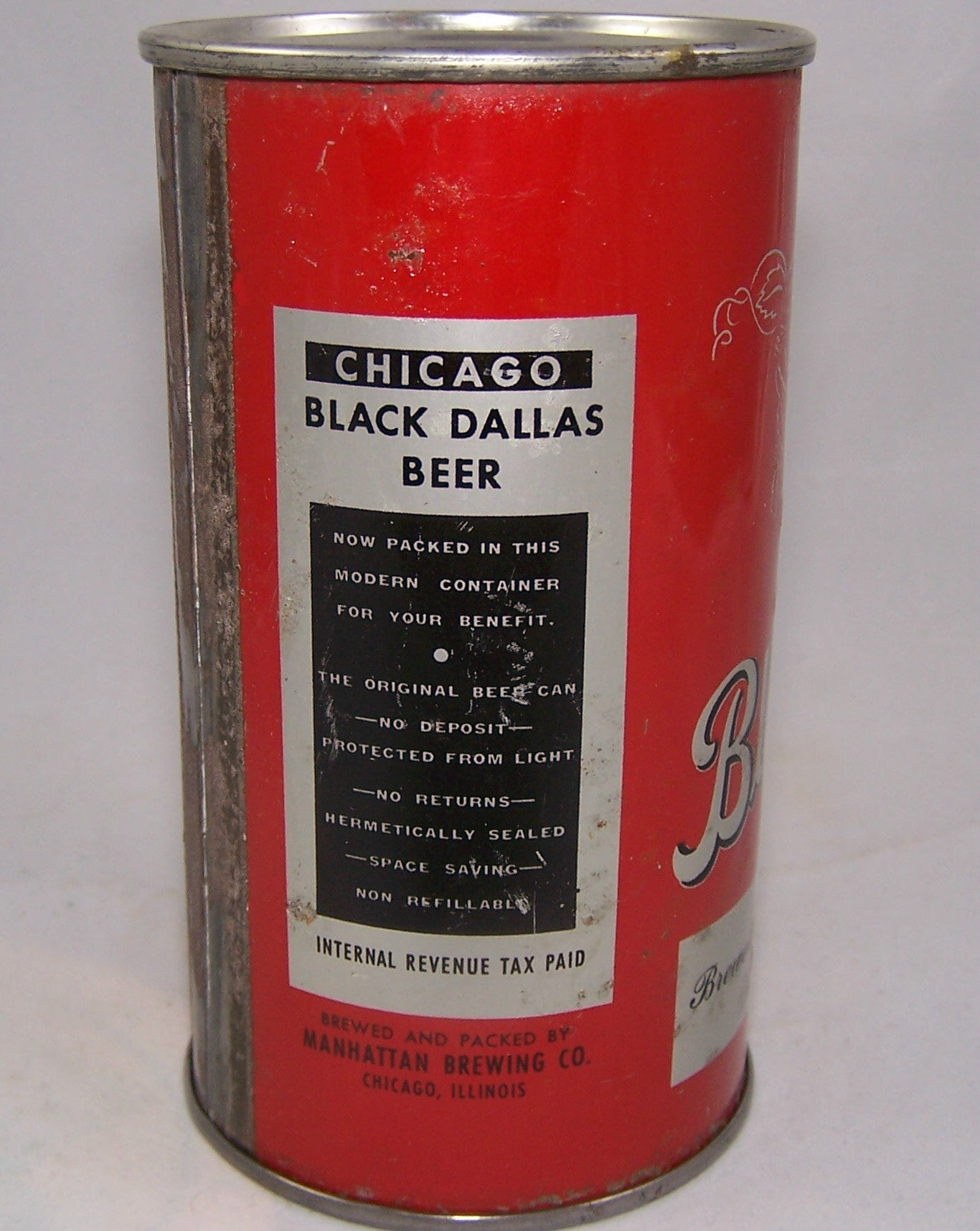 Chicago Black Dallas (Blacked out) Lilek # 113, Grade 1 -/2+Sold on 10/14/15