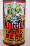 Willows Lager Beer, Lilek page #877, Grade 2 Sold on 11/17/14