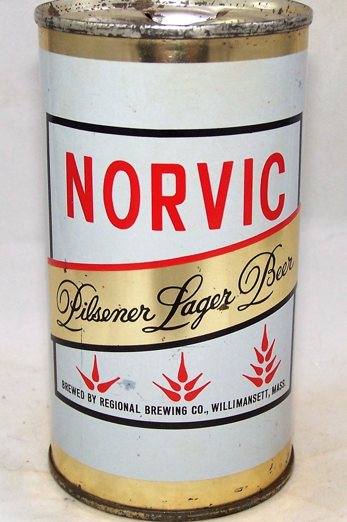Norvic Pilsener Lager Beer, USBC 103-37, Grade 1/1+  Sold on 11/08/19