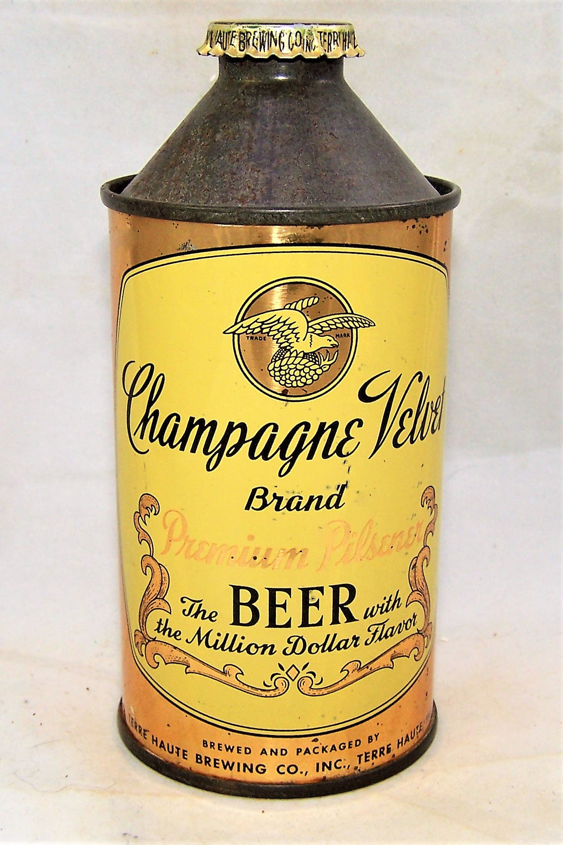 Champagne Velvet (1944 on Policy) with original Crown, USBC 157-06, Grade 1  Sold on 11/08/19