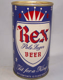 Rex Pale Lager Beer, USBC II 114-37, Grade 1 to 1/1+ Sold on 10/16/15