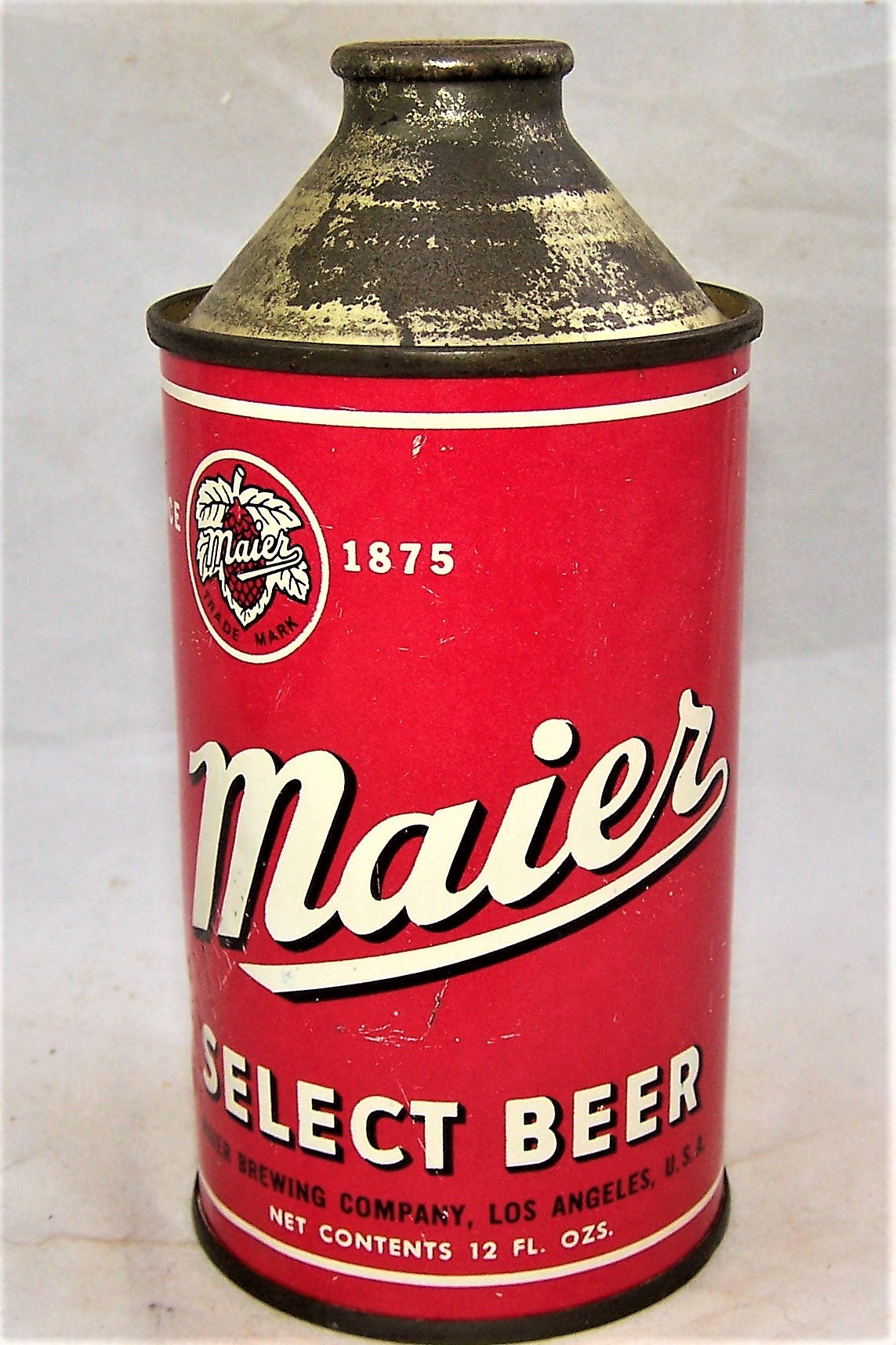 Tough Maier (Black Letters) Select Beer, USBC 173-11, Grade 1/1-