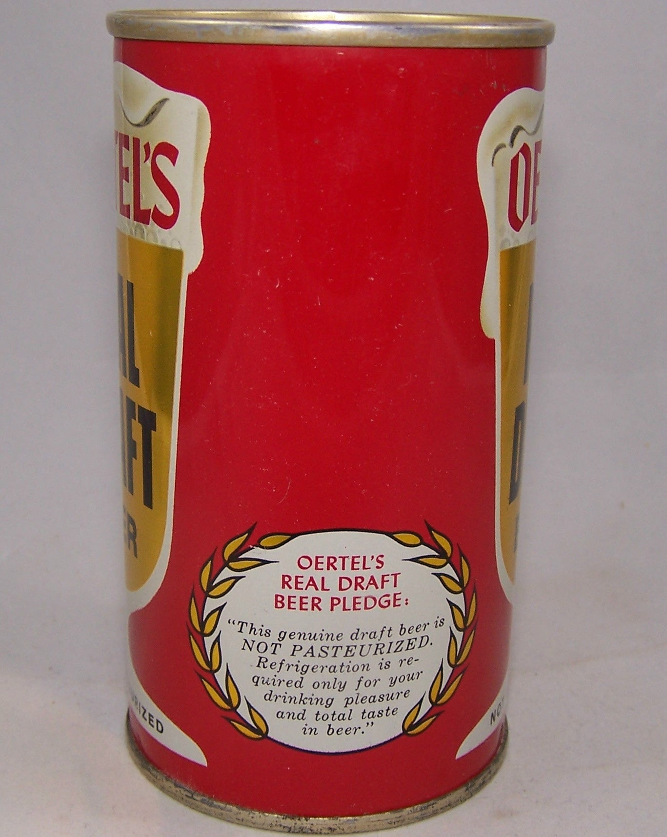 Oertel's Real Draft Beer, USBC II 99-04, Grade 1/1+