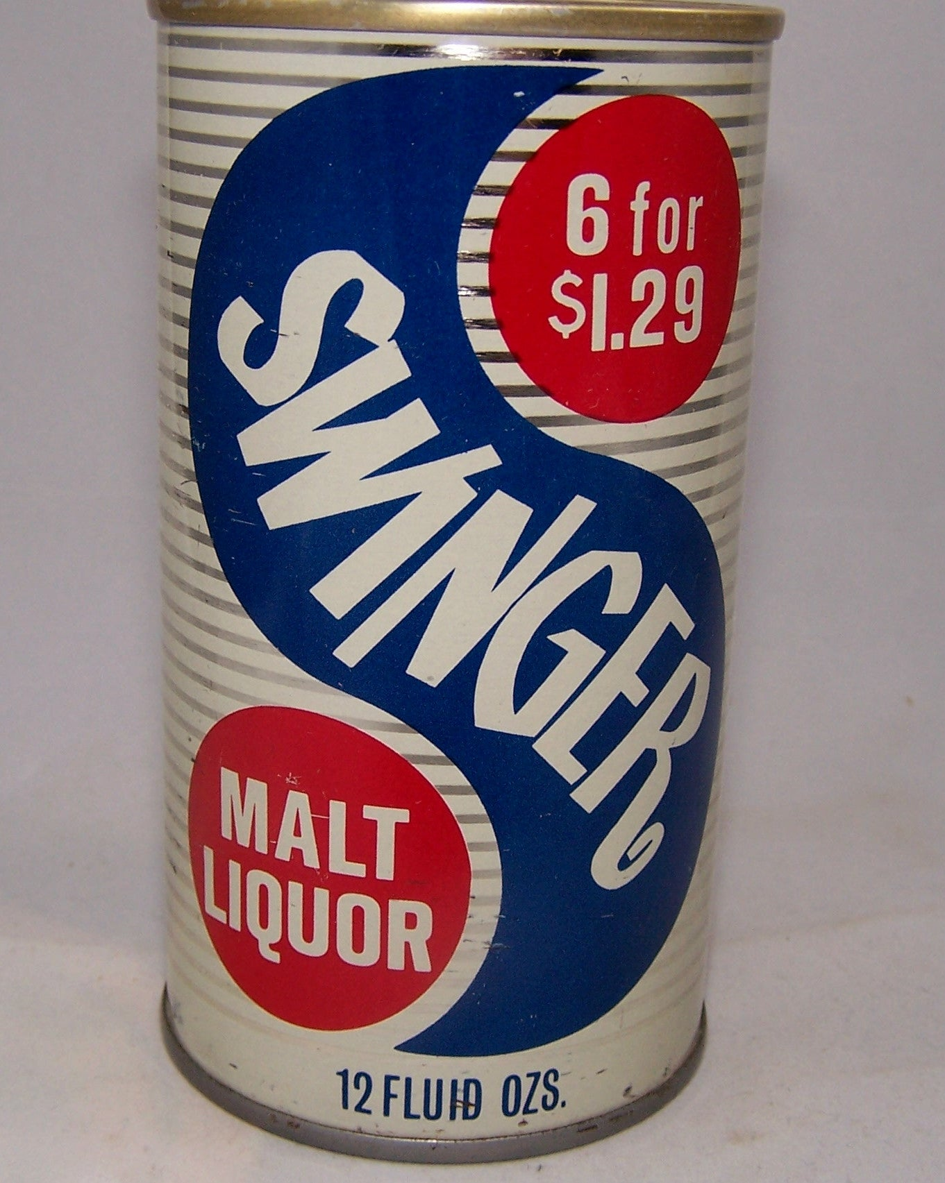 Swinger Malt Liquor USBC II 128-28, Grade 1 to 1/1+ Sold on 01/22/16