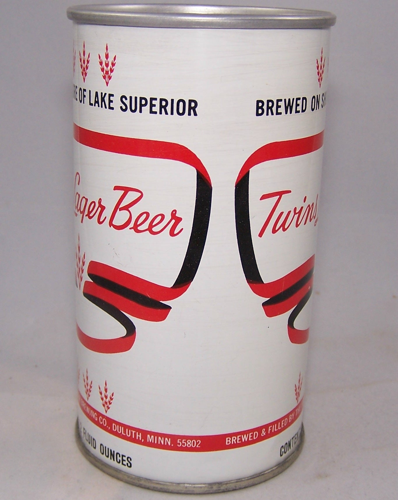Twins Lager Beer, USBC II 132-11, Grade A1+ Sold on 10/28/15