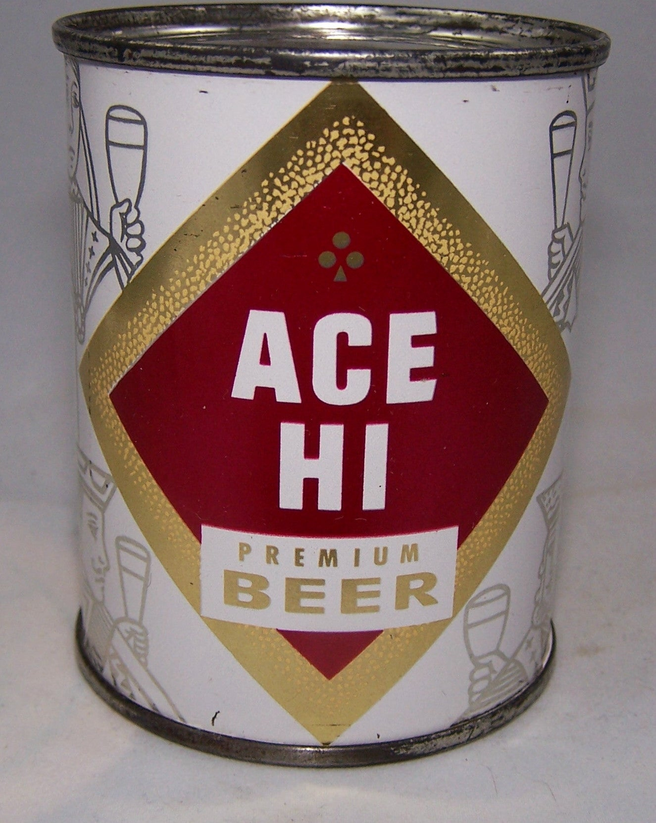 Ace Hi Premium Beer 8 ounces, USBC 239-03, Grade 1 to 1/1+ Sold on 01/21/17