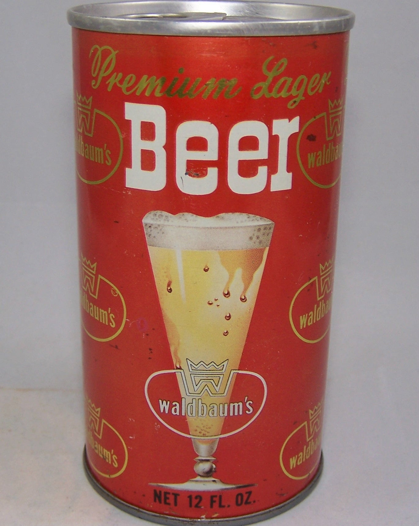 Waldbaum's Premium Lager Beer, USBC II 133-23, Grade 1/1- Sold on 09/09/16