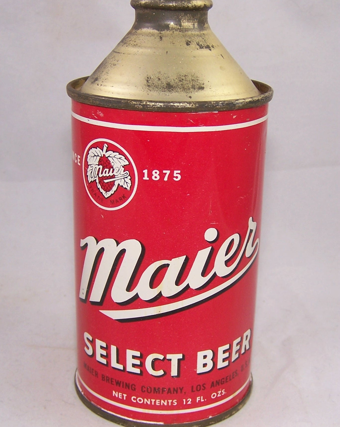 Maier Select Beer, USBC 173-12, Grade 1/1+ Sold on 10/01/17