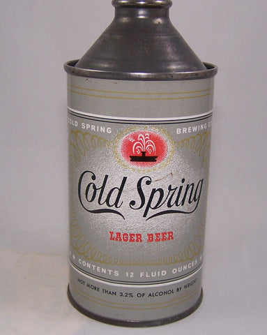 Cold Spring Lager Beer, USBC 157-26, Grade 1
