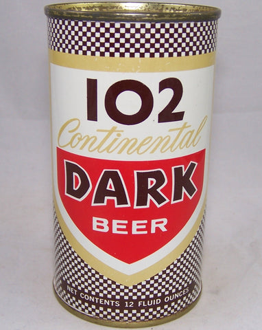 102 Continental Dark Beer, USBC II 104-22, Grade 1/1+ Sold on 02/17/18