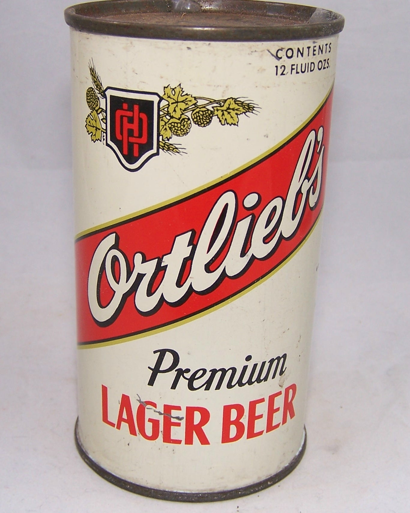 Ortlieb's Premium Lager Beer, USBC 109-18, Grade 1/1- Sold on 09/01/17