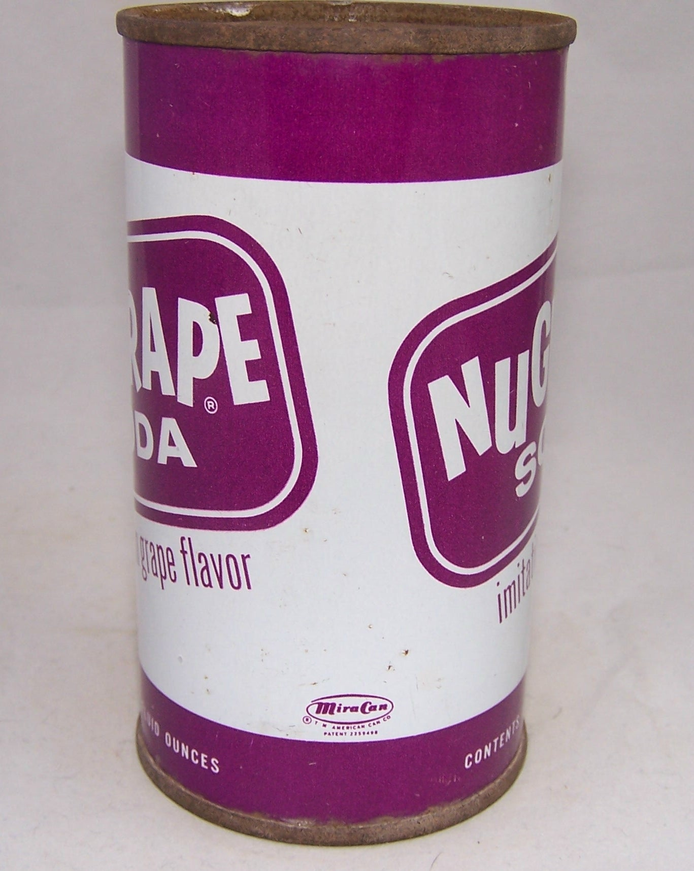 NuGrape Imitation Grape Flavor, Very Tough can, Grade 1 Sold on 09/03/17