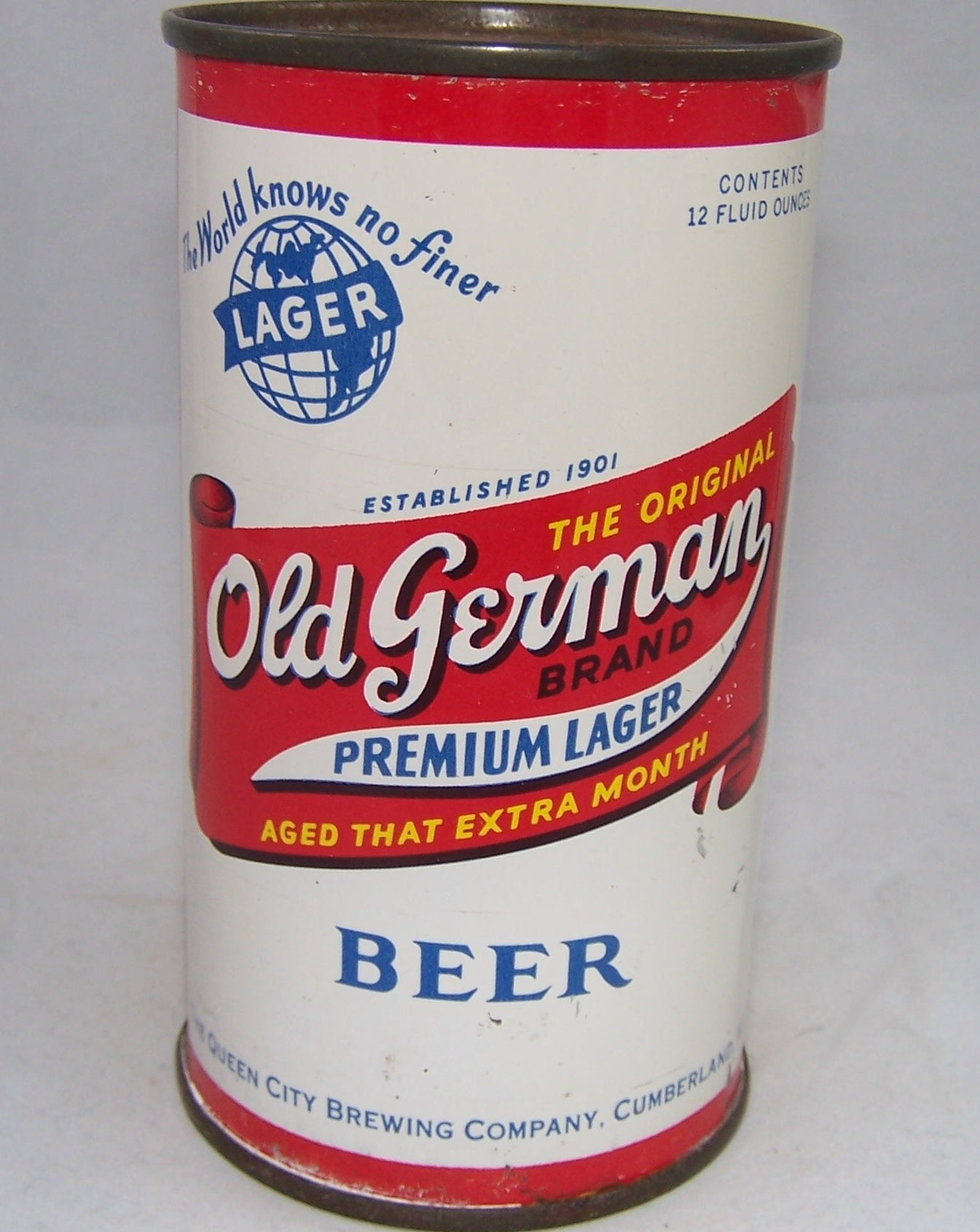 Old German Premium Lager, USBC 106-26, Grade 1/1+ Sold on 03/03/18