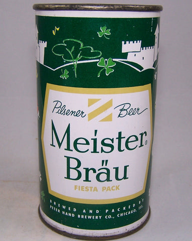 Meister Brau Beer, Country Can (Ireland) USBC 97-07, Grade 1/1+Sold 10/23/15