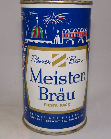 Meister Brau Pilsener Beer, Country Can, (Italy) USBC 97-08, Grade A1+Sold 10/23/15