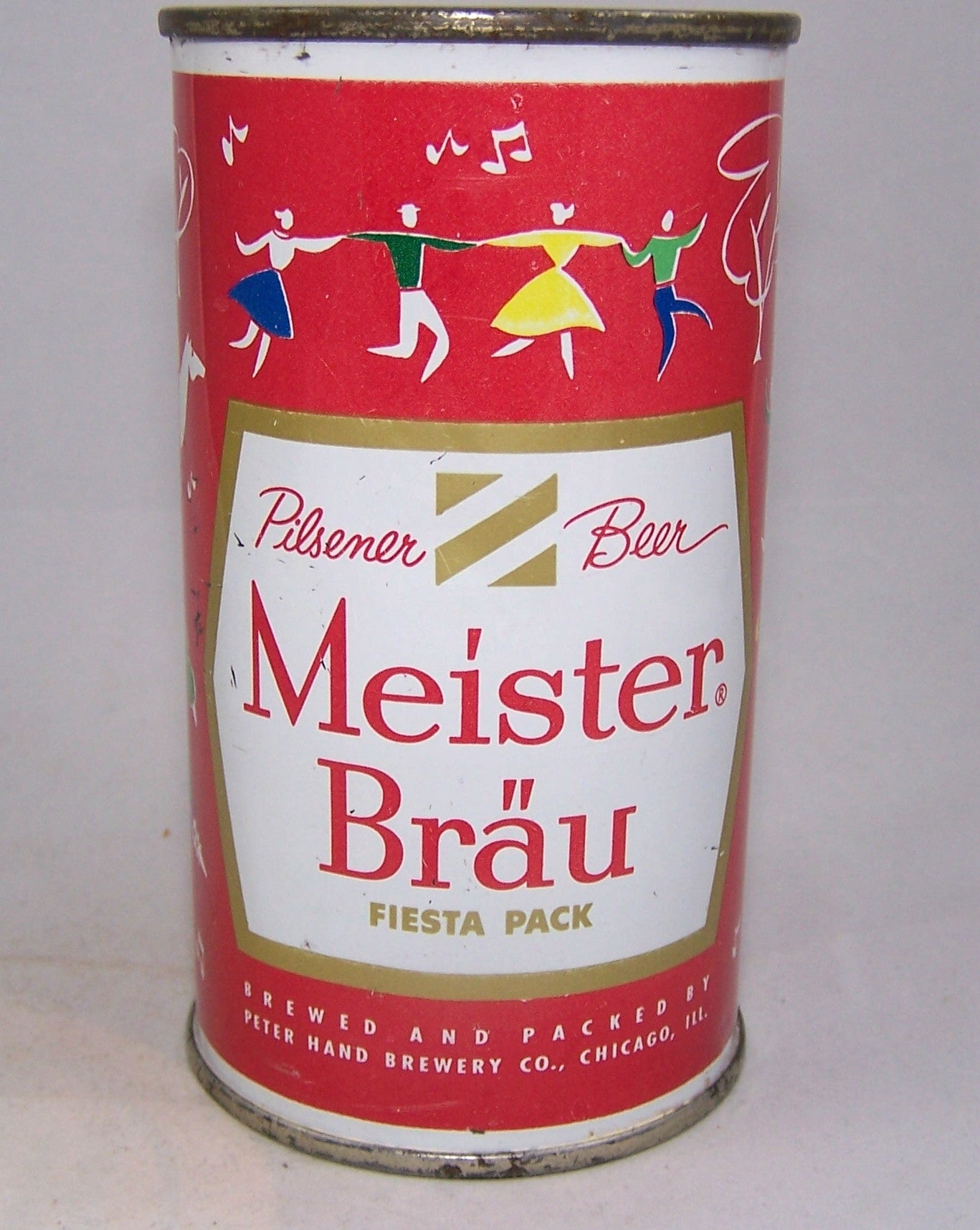 Meister Brau Beer, Country Can, (Scandinavia) USBC 97 - 11, Grade 1 sold 05/15/16