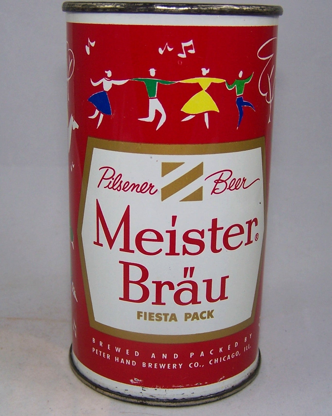 Meister Brau Beer, Country Can, (Scandinavia) USBC 97-11, Grade 1/1+Sold 10/23/15