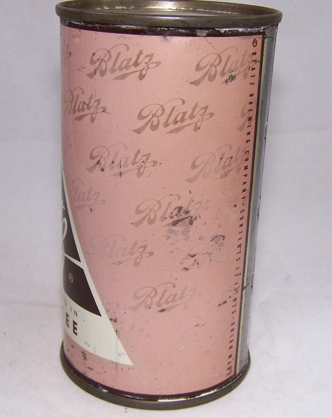 Blatz set can (Pink) USBC 39-15, Grade  1- Sold on 09/10/17