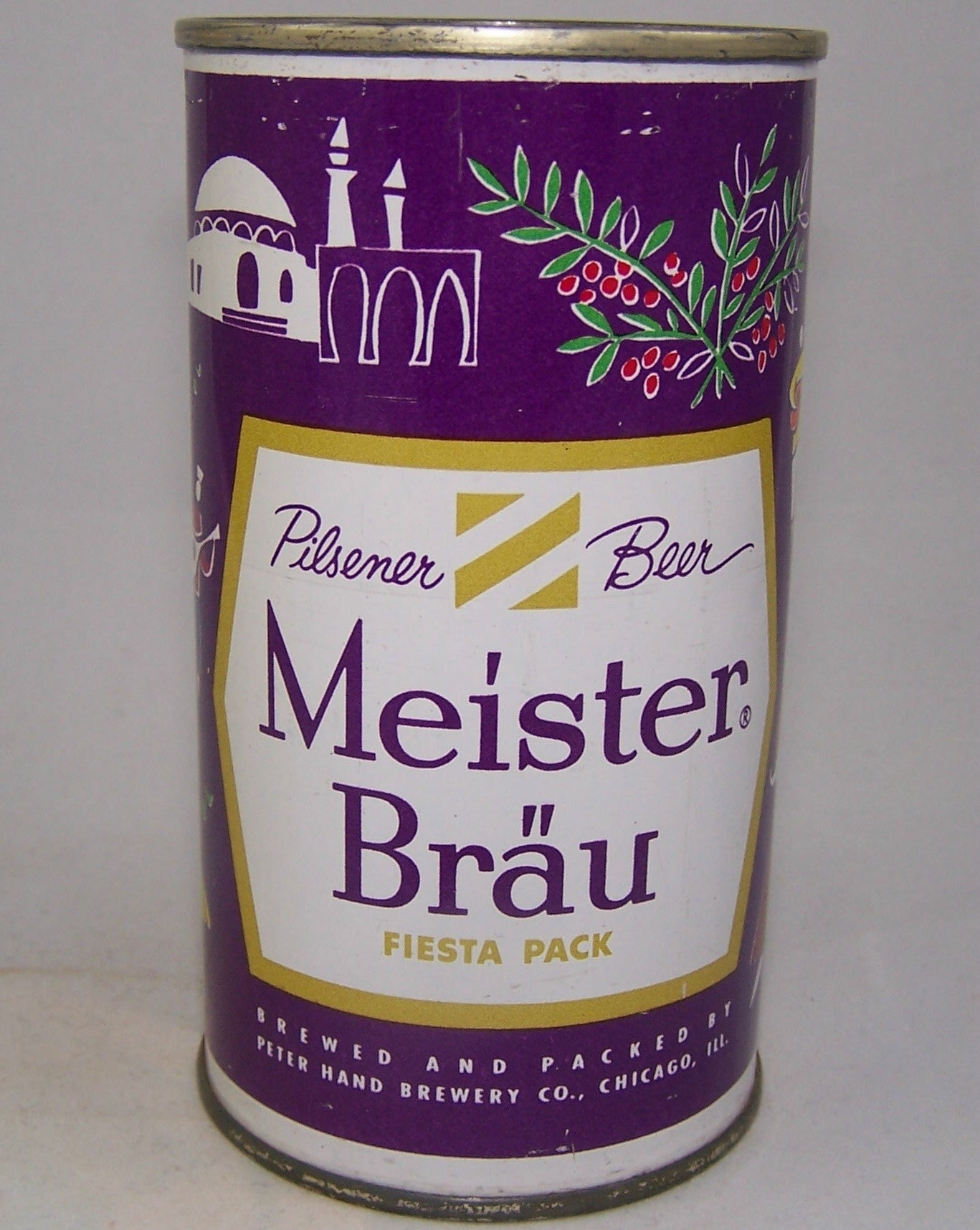 Meister Brau Beer, Country Can, (Turkey) USBC 97-24, Grade 1/1+ Sold on 10/24/15