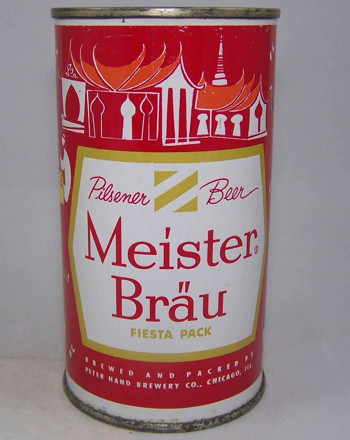 Meister Brau Beer, Country Can, (Thailand) USBC 97-17, Grade sold 6/18/161/1+