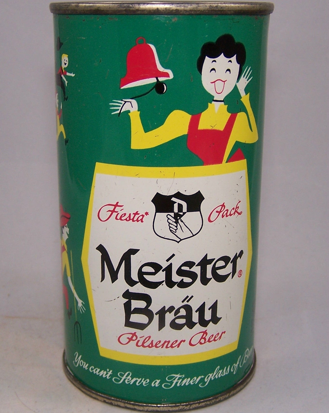 Meister Brau Beer (P In Hand) USBC 97-27, Grade 1 to 1/1+Sold 6/18/16