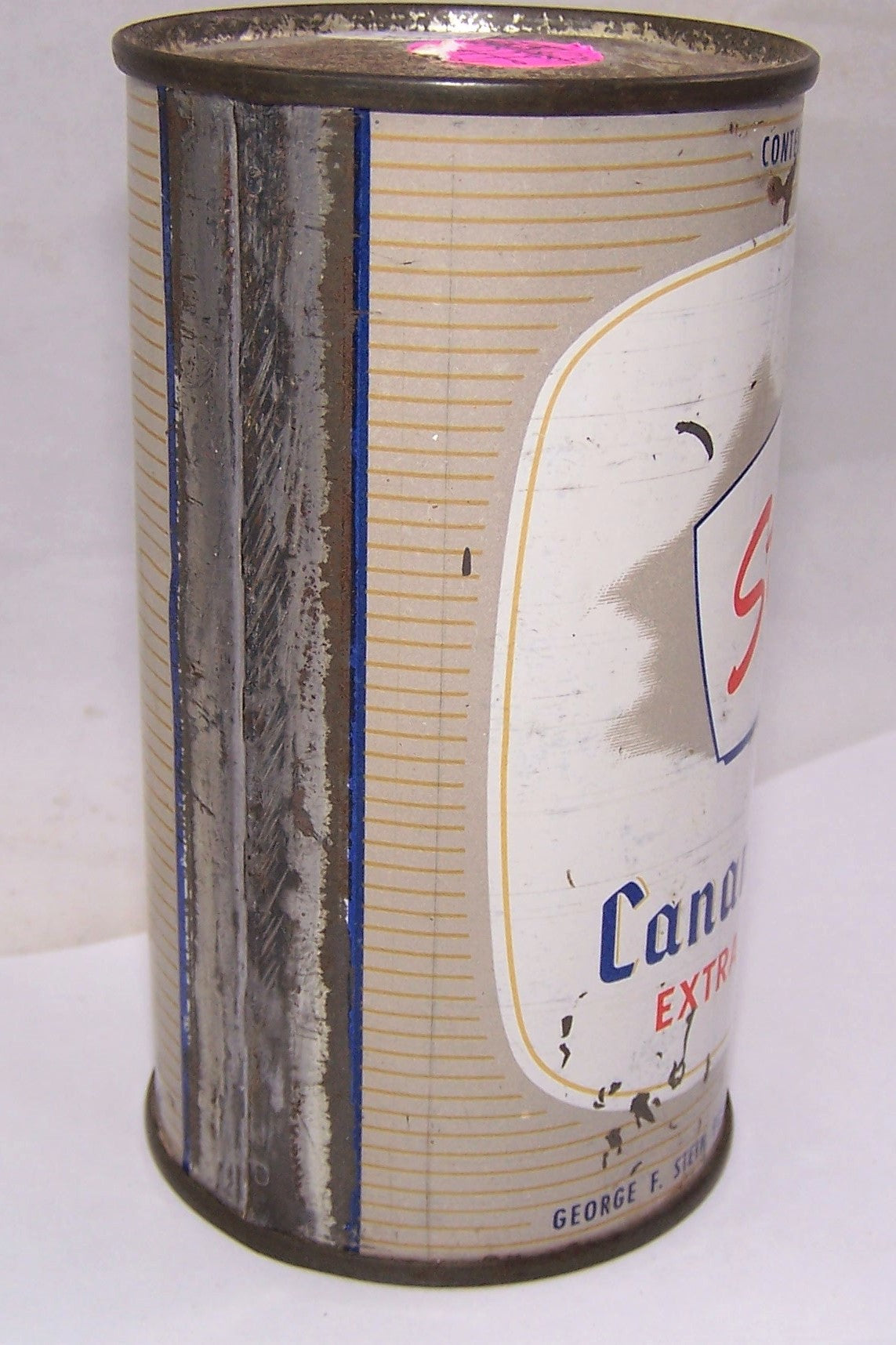 Stein's Canandaigua Flat Top, Grade 1-/2+ All Original.
