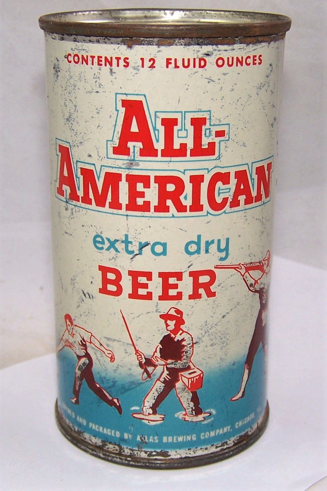 All American, Atlas Brewing, Chicago, Grade 2+