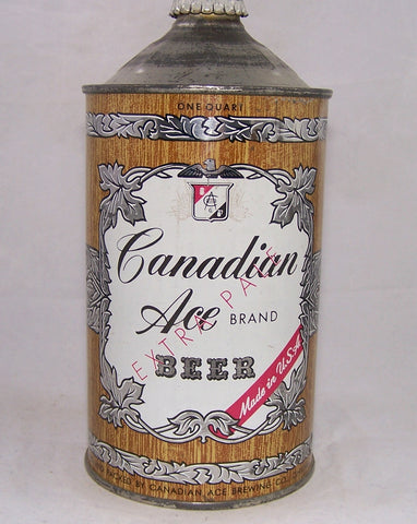 Canadian Ace Beer, USBC 205-05, Grade 1/1+ Sold on 11/27/17