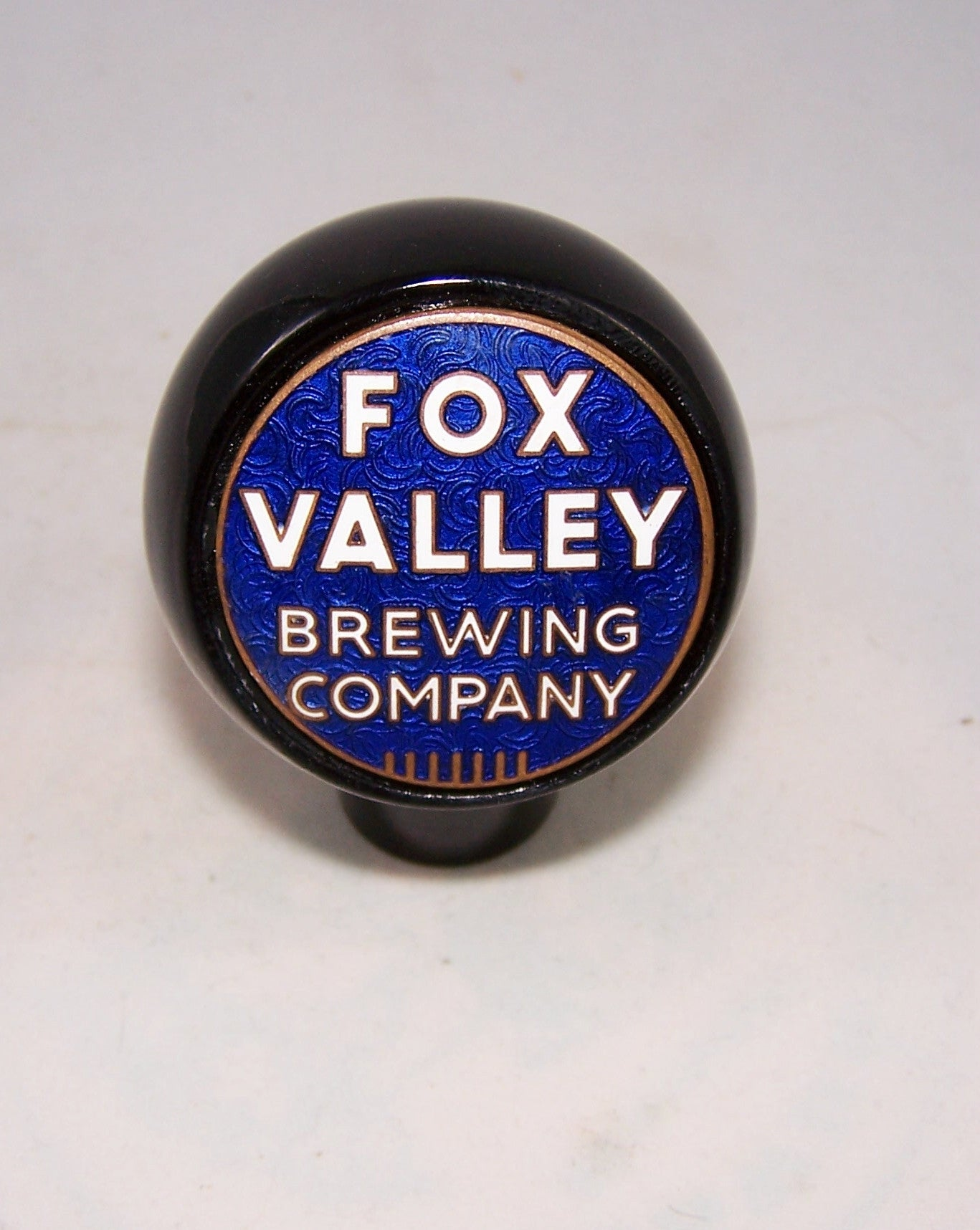 Fox Valley Brewing Company, Tap Markers page 163-1896, Grade 9+ Sold on 02/12/16