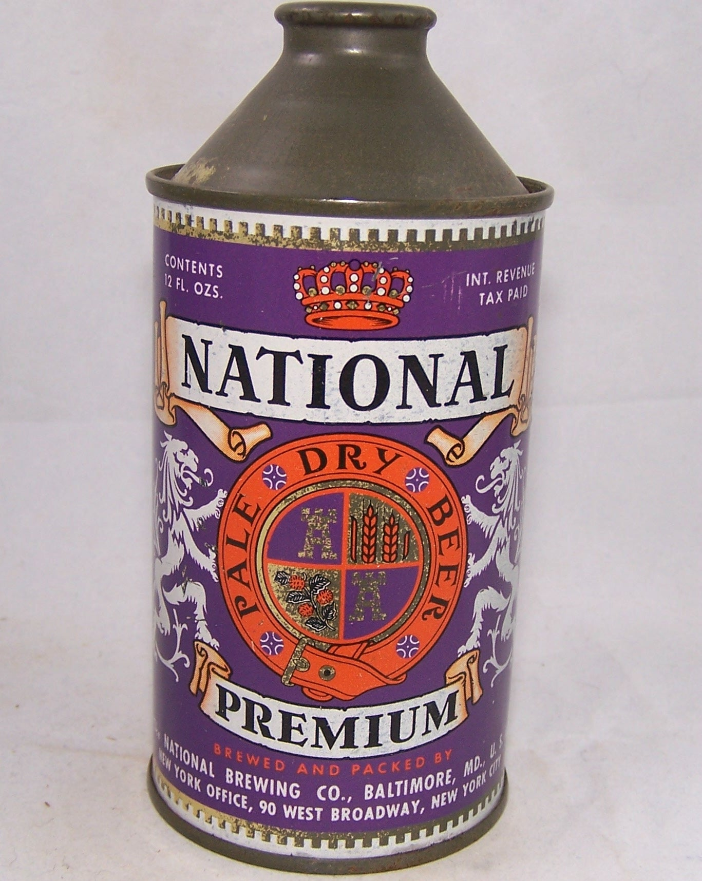 National Premium Pale Dry Beer, USBC 175-01, Grade 1/1- Sold on 10/23/17