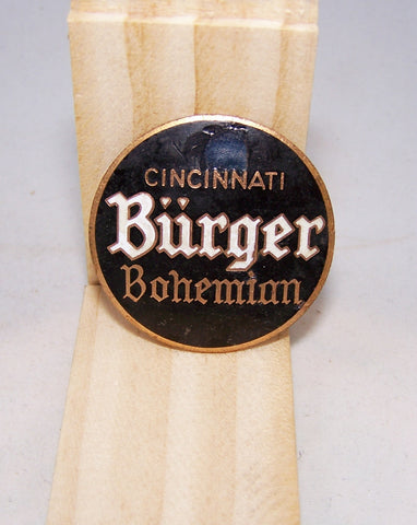Cincinnati Burger Bohemian Ball Knob Insert, Tap Marker page 114-1161, Grade 8 Sold on 02/13/16