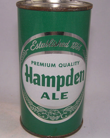 Hampden Premium Quality Ale, L 79-36, Medium Green, Grade 1 Sold on 11/08/15