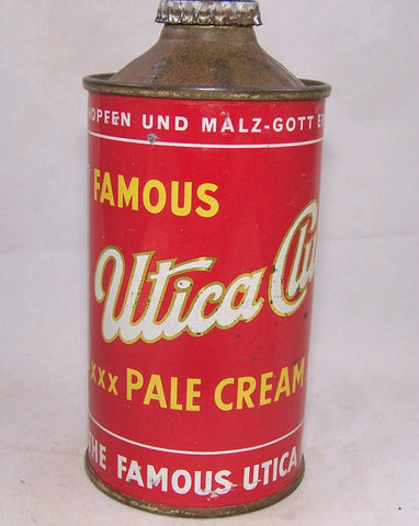 Utica Club Pale Cream Ale, USBC 188-01, Grade 1 sold 2-8-19