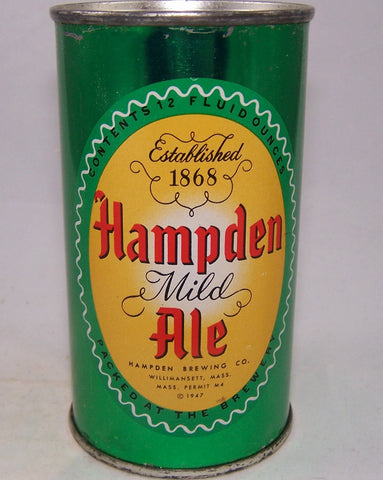 Hampden Mild Ale, (Light Yellow) USBC 79-34, Grade 1 to 1/1+