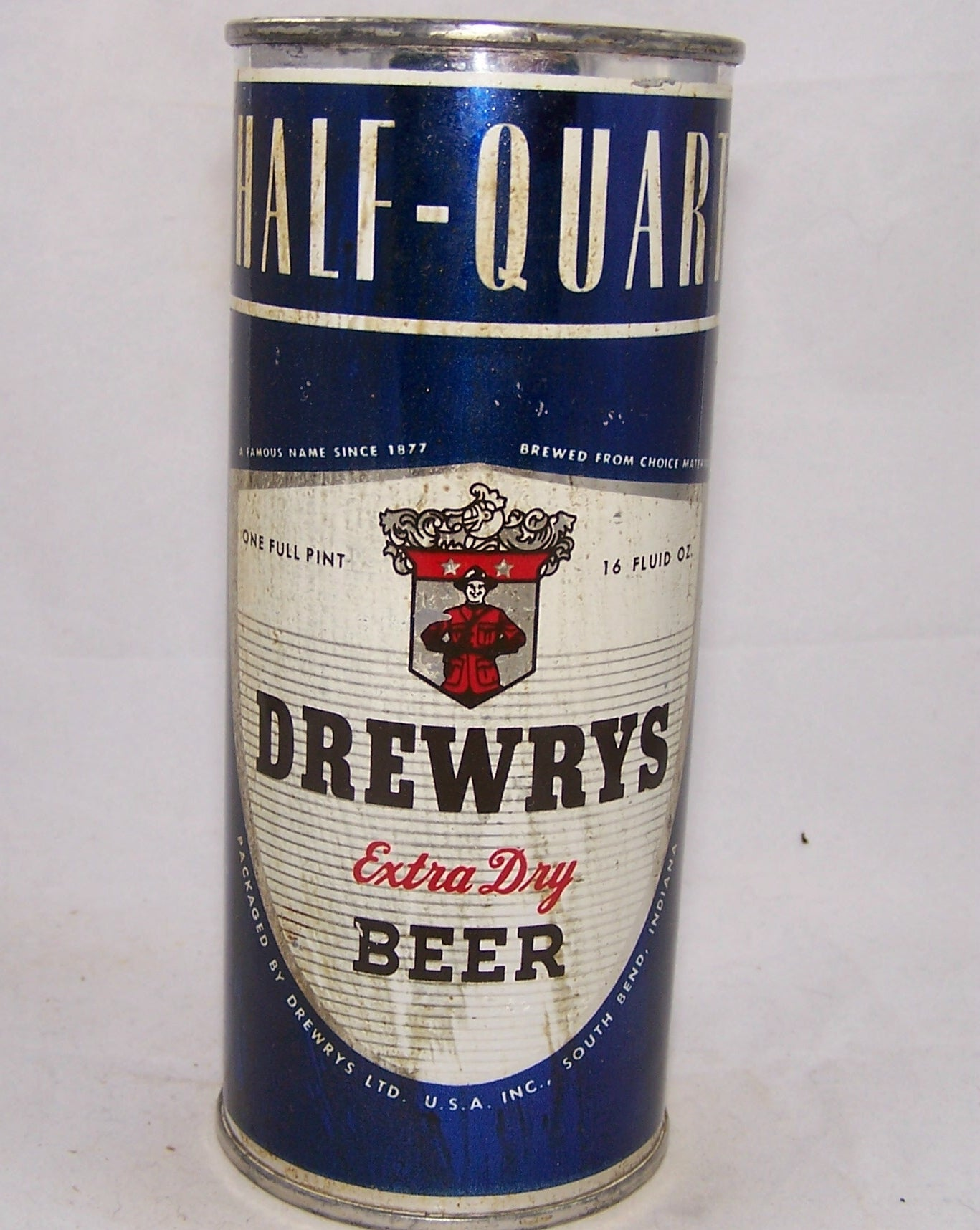 Drewrys Your Character Extra Dry Beer, USBC 228-9, Grade 1-
