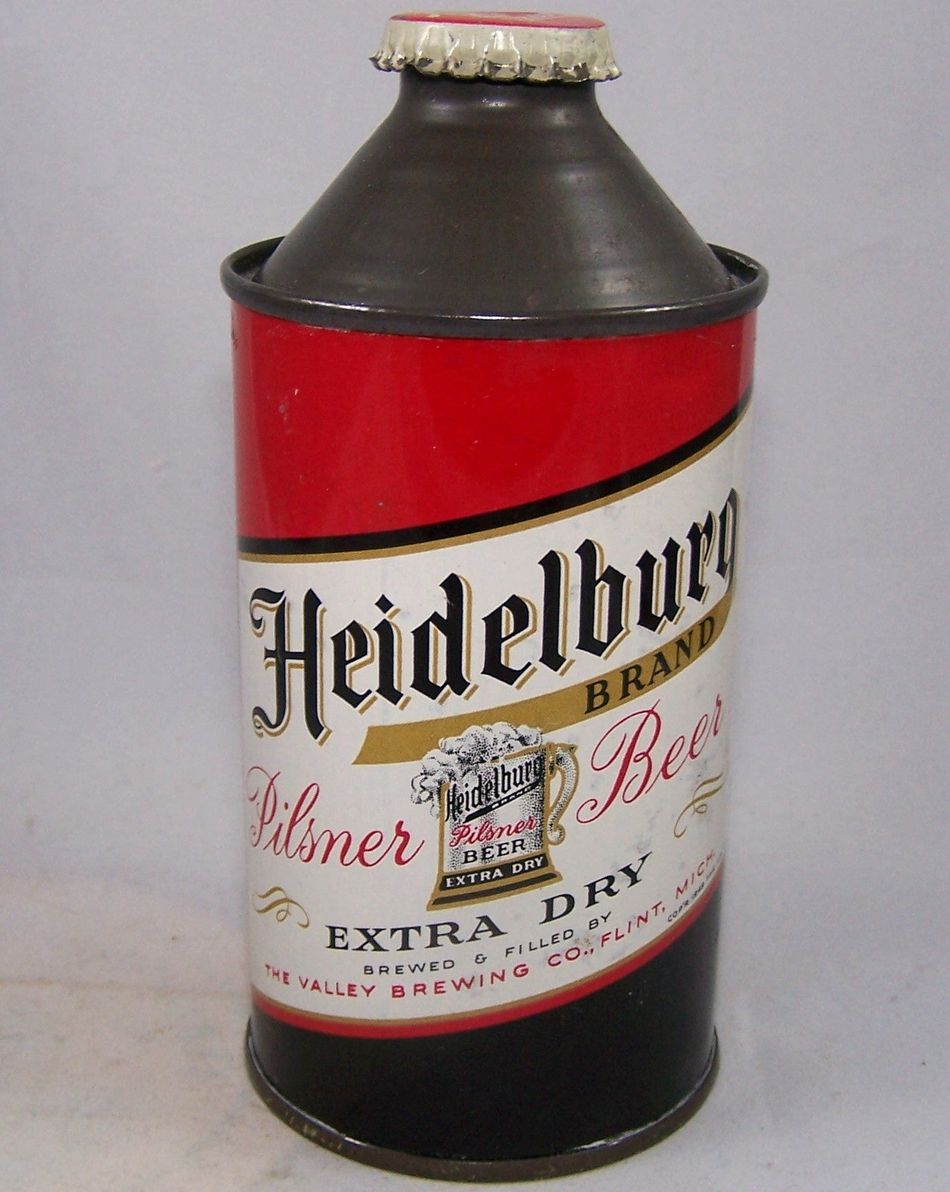 Heidelburg Extra Dry Pilsner Beer, USBC 168-2 Grade 1 to 1/1+ Sold on 11/08/15