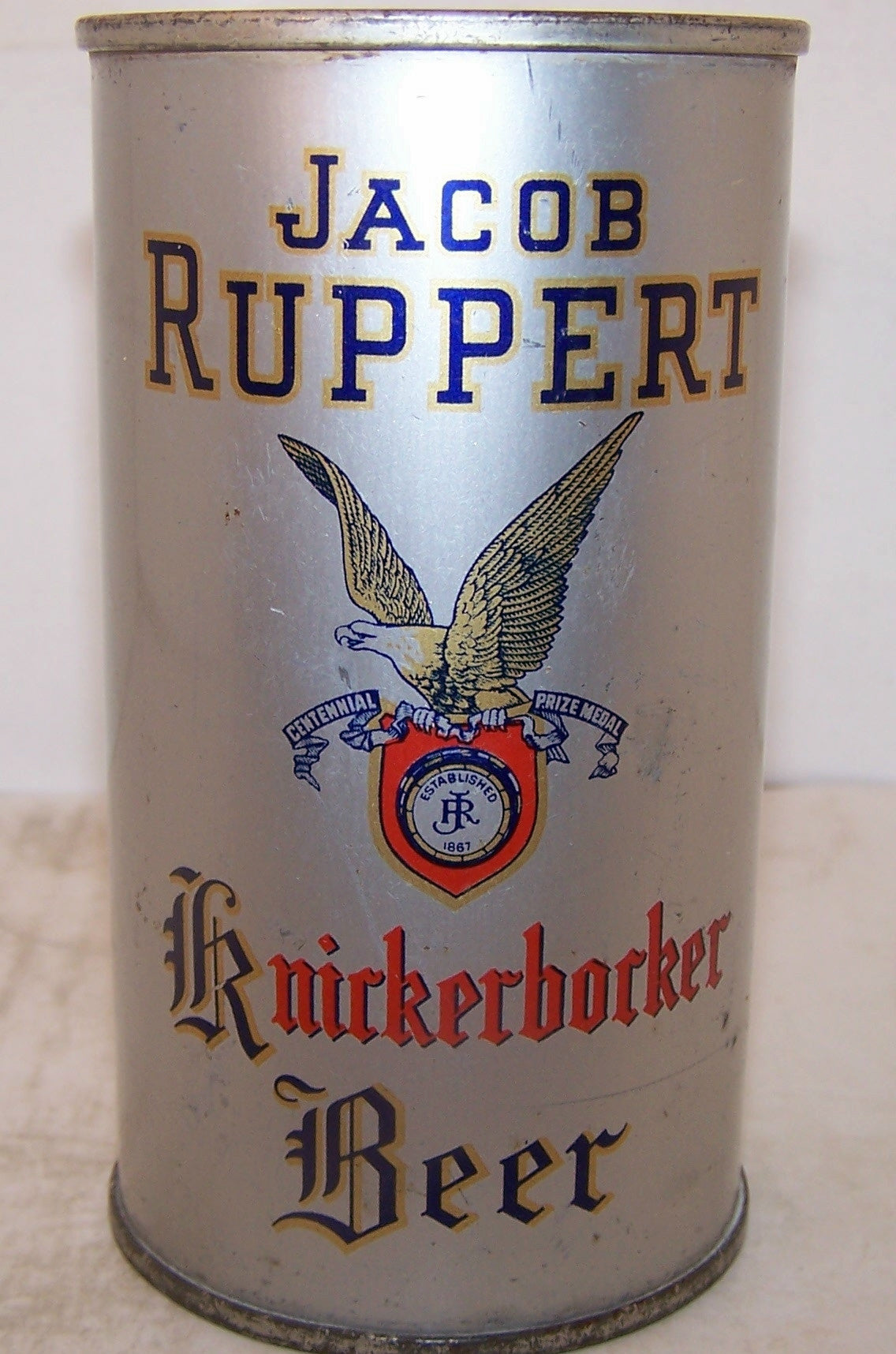 Jacob Ruppert Knickerbocker beer, USBC 126-1, Grade 1/1- Sold 4/1/15