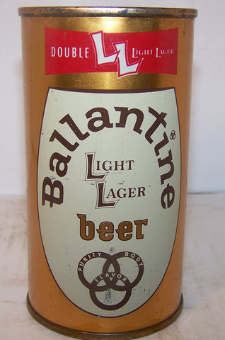 Ballantine Light Lager, USBC 34-3, clean, grade 1/1+ Sold on 01/29/17