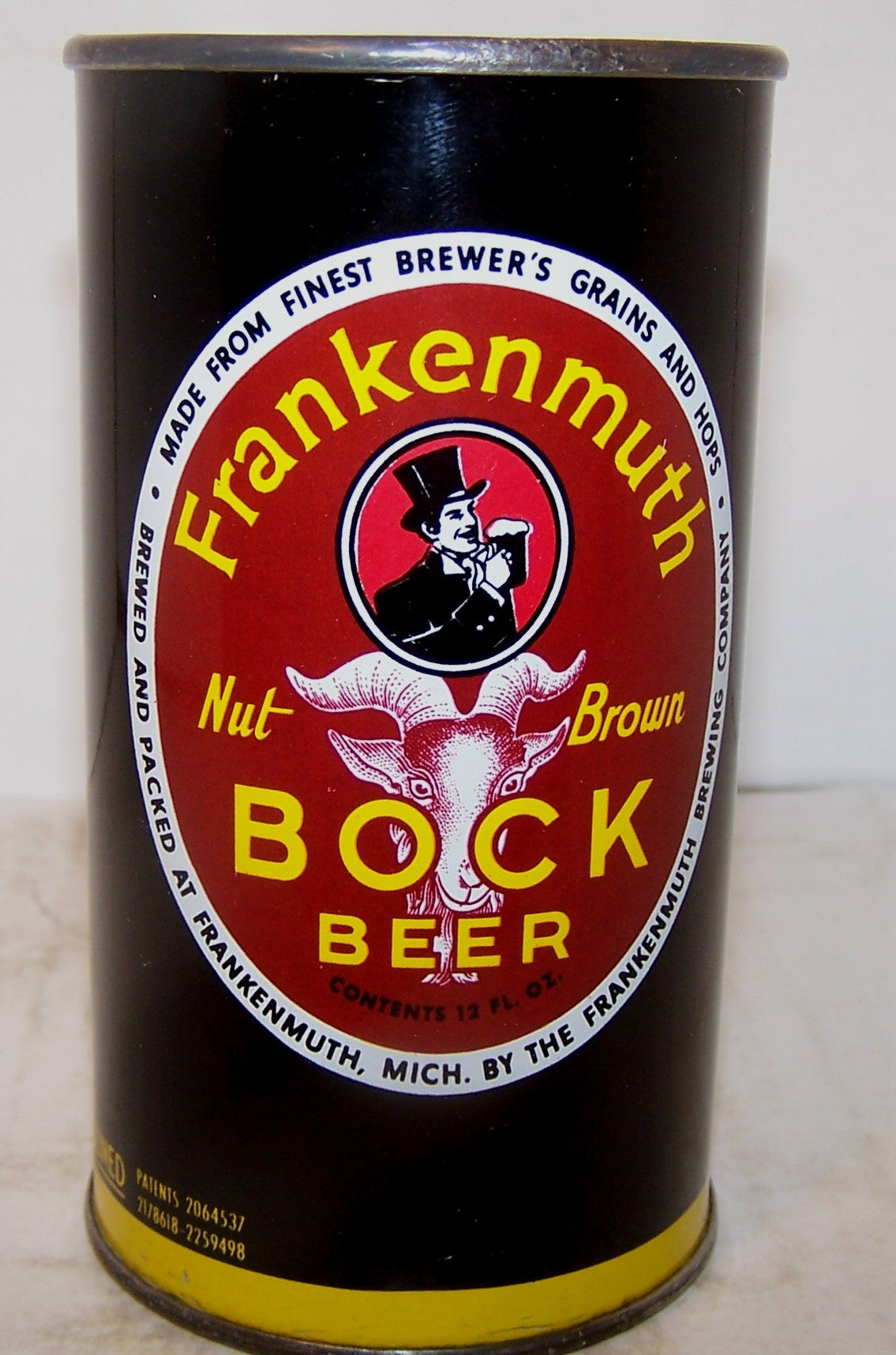 Frankenmuth Bock USBC 66-33, all original, grade 1/1+ Sold on 2/10/15